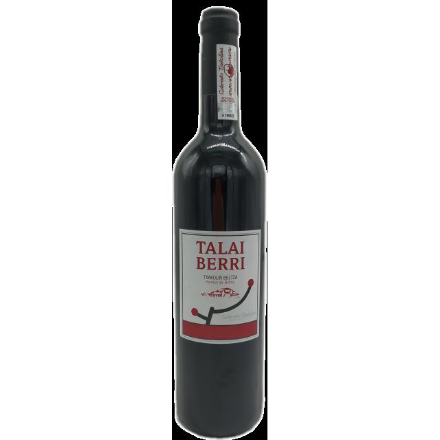 TALAI BERRI BELTZA, RED TXAKOLI